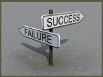 Success + Failure Sign