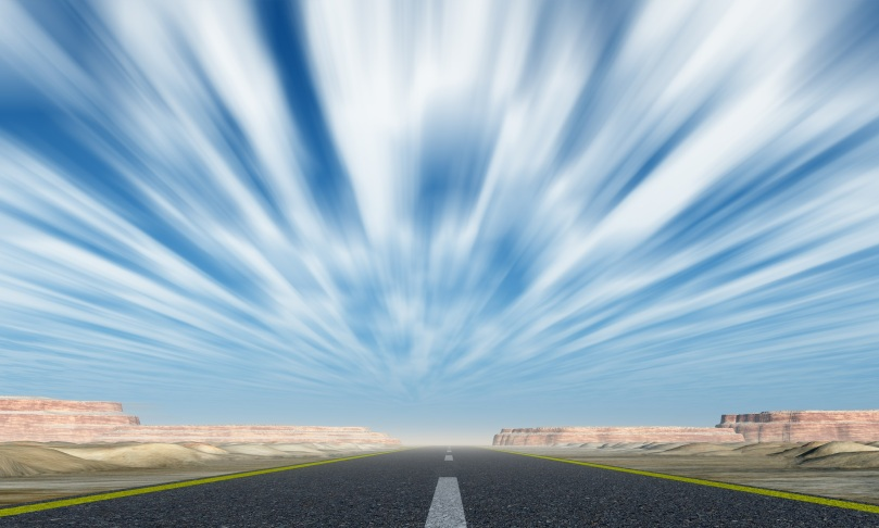 Quickest_Route-road-with-motion-clouds